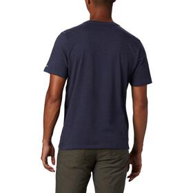 Columbia Bluff Mesa Graphic T-shirt Heren, blauw